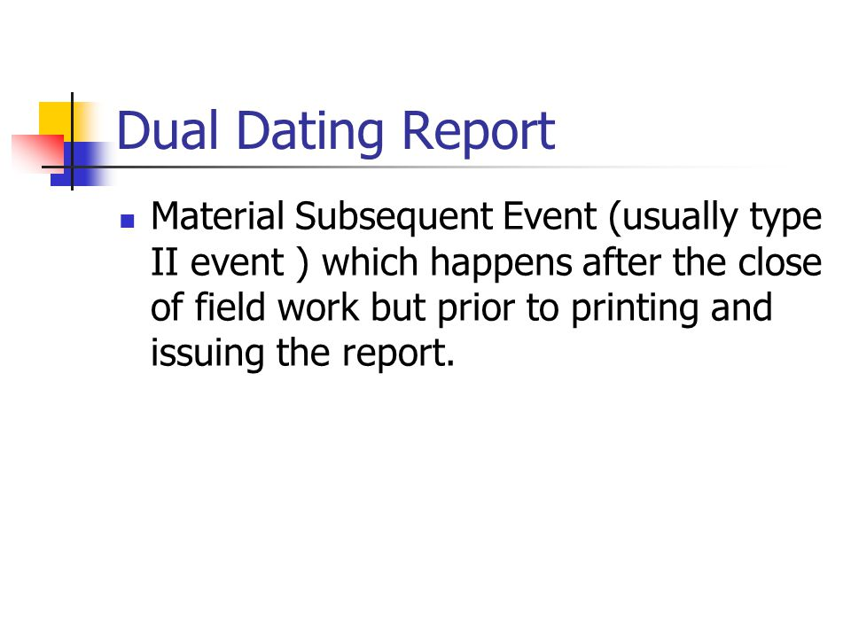 from Colby dating of directors report