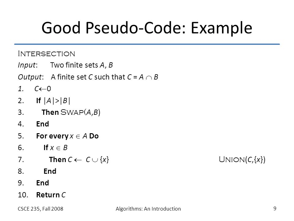 Pseudo Code Exle 28 Images Pseudocode Introduction To Algorithms