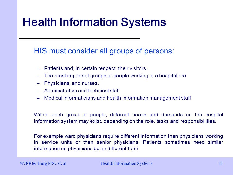Health Information Systems Architectures And Strategies