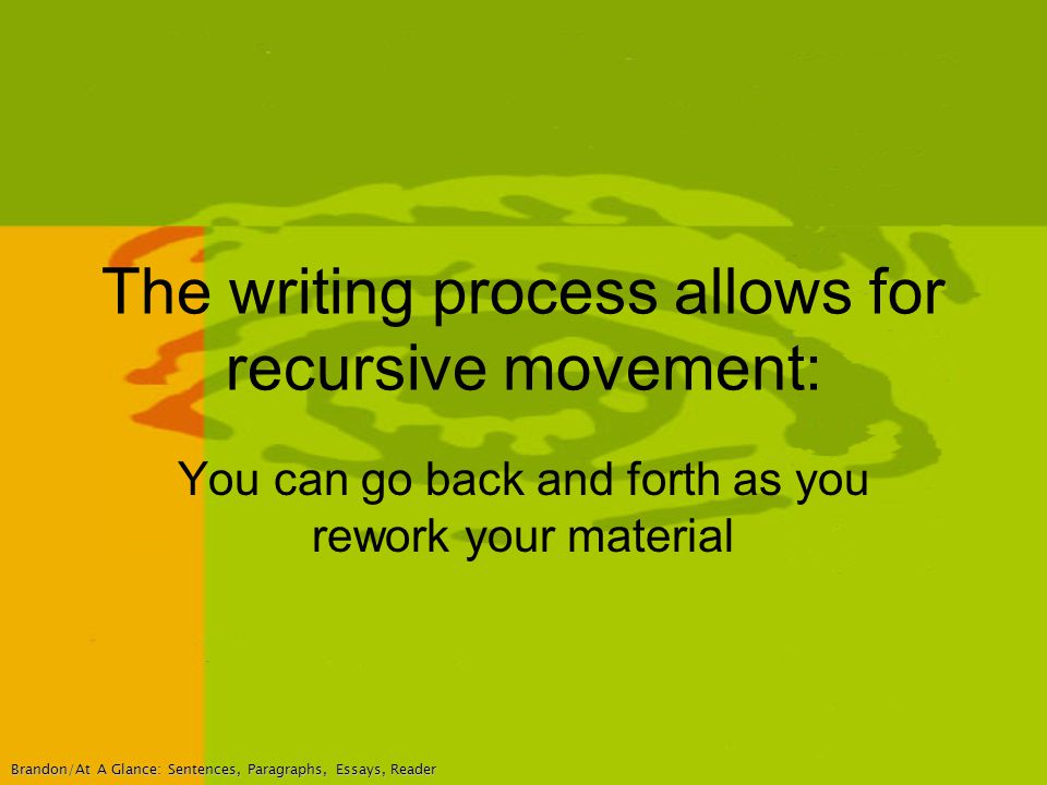 """recursive writing process [gview file="""" """"] presented by dj henry at the speaking about english online."""