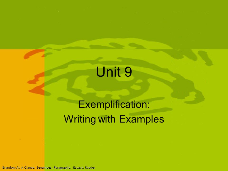 Exemplification Essay Topics - Studycom