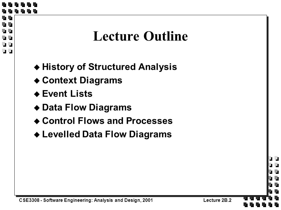 an analysis of structured design Systems analysis and design » process specifications and structured decisions » writing structured english writing structured english when the process logic involves formulas or iteration, or when structured decisions are not complex, an appropriate technique for analyzing the decision process is the use of structured english.