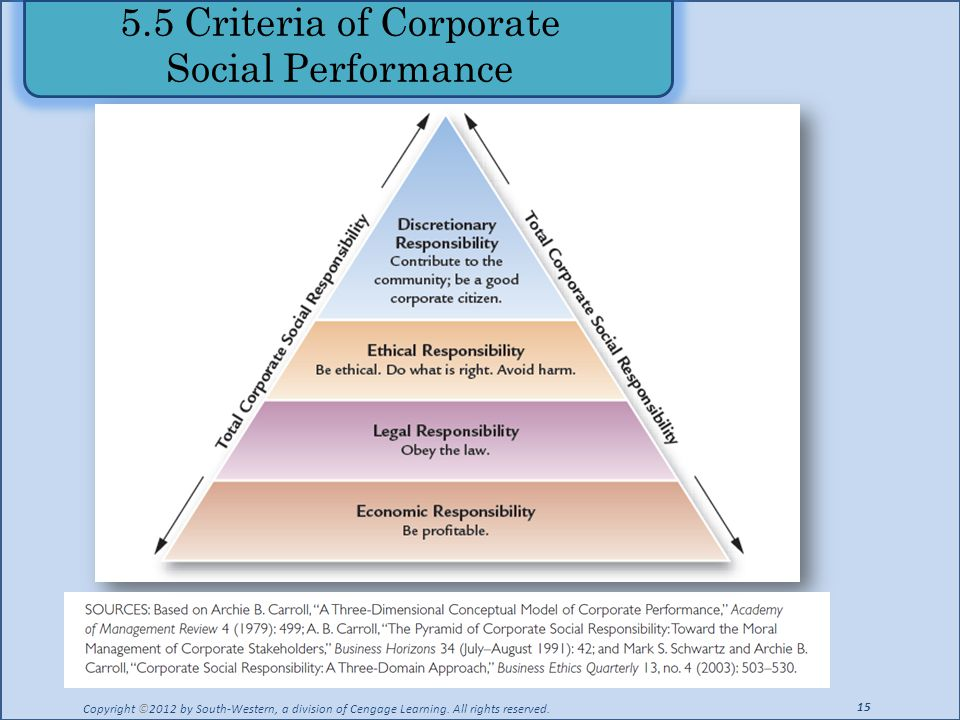corporate governance and ethical responsibility essay Business ethics - corporate governance and ethics the corporate social responsibility essay - the corporate social responsibility (csr).