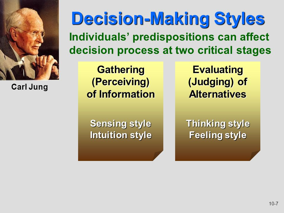 critical thinking decision making process