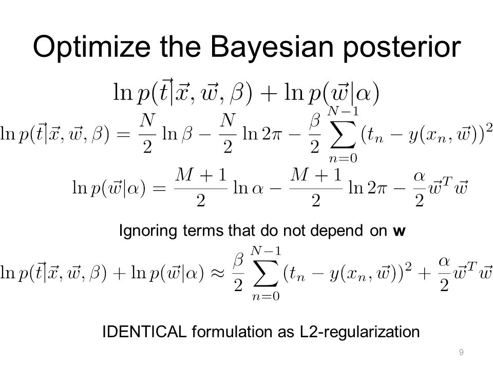 Context Overfitting is bad. Bayesians vs. Frequentists Is one better