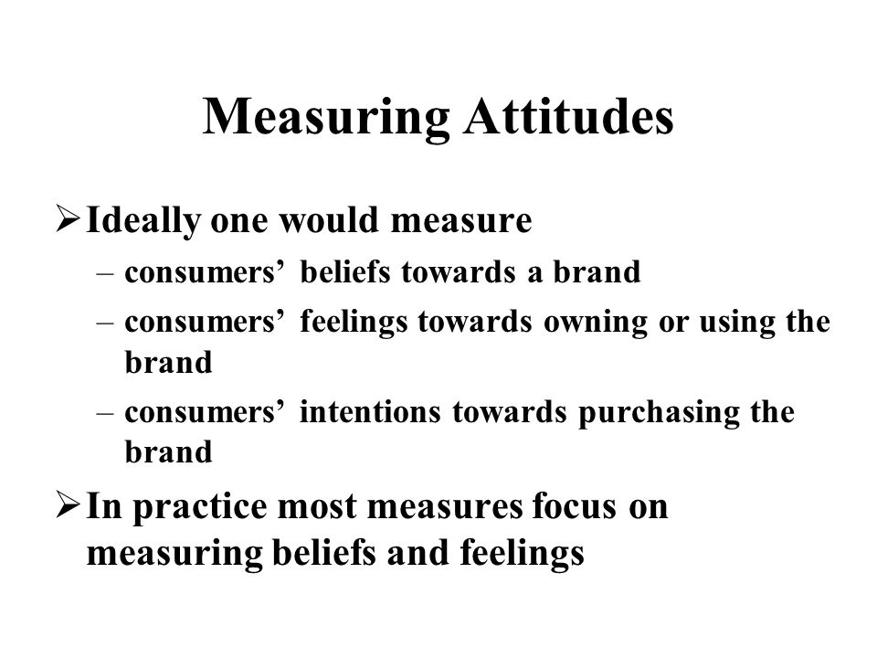 customers attitudes toward supermarket brands in Customer attitudes are a composite of a person's beliefs about, feelings about, and behavioral intentions toward your business based in past experience with your business and those of your competitors, understanding customer attitudes can help you monitor and change their intentions about doing business with you.