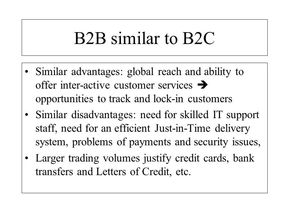 B2B similar to B2C