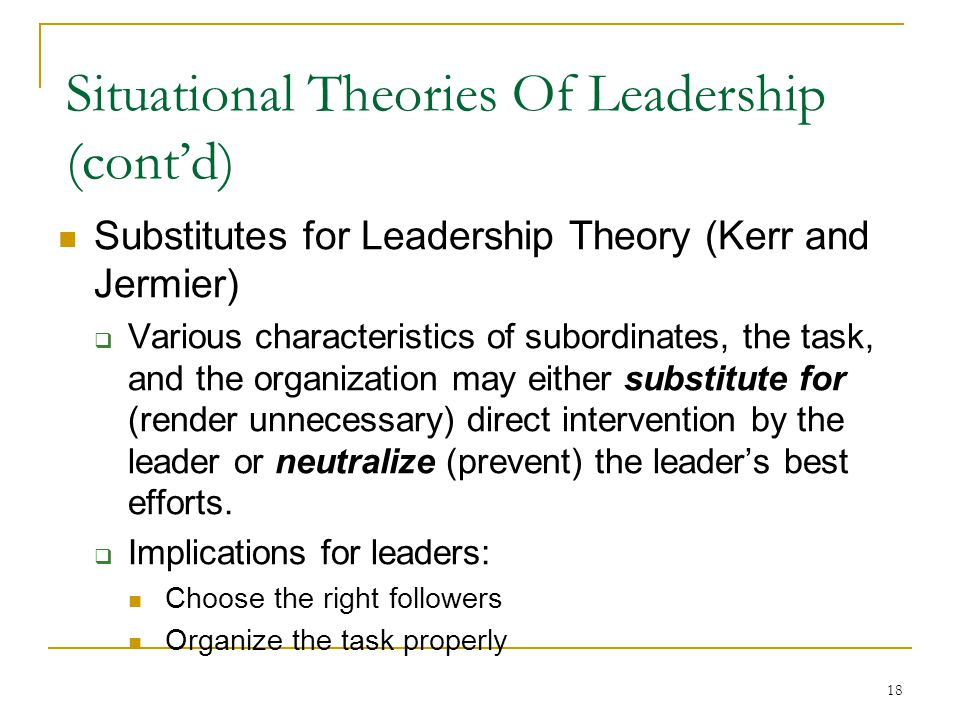situational approaches to leadership management essay View this essay on debate pros and cons to situational leadership approach  debate pros and cons to situational leadership approach essay  on quick management .