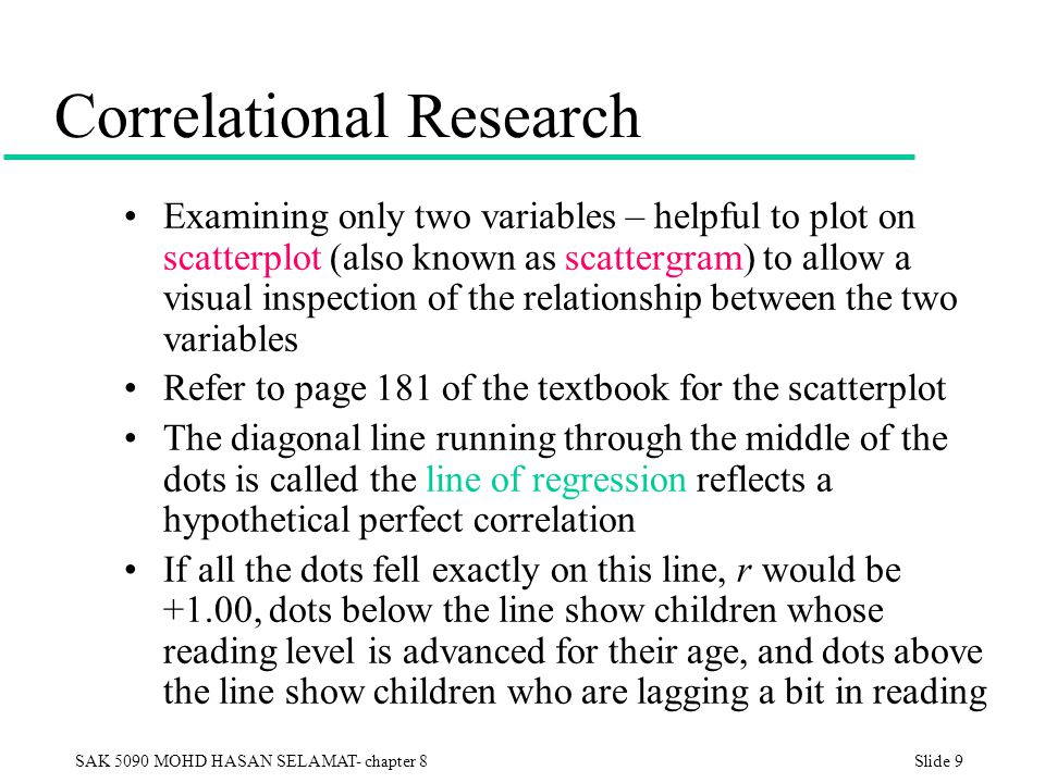 correlational research paper