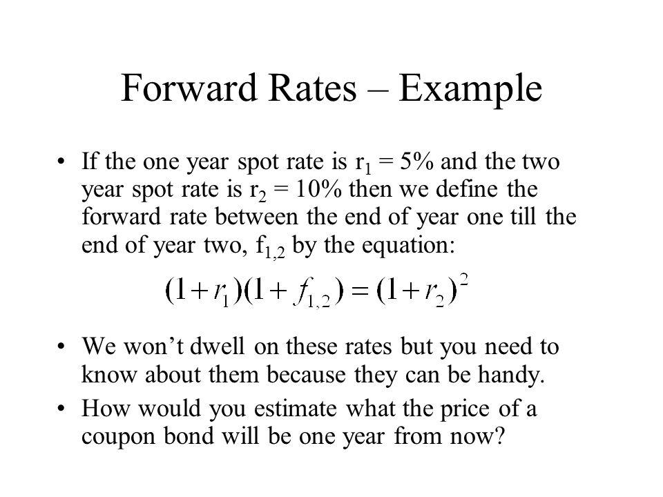 10 year forward rate - Trade setups that work