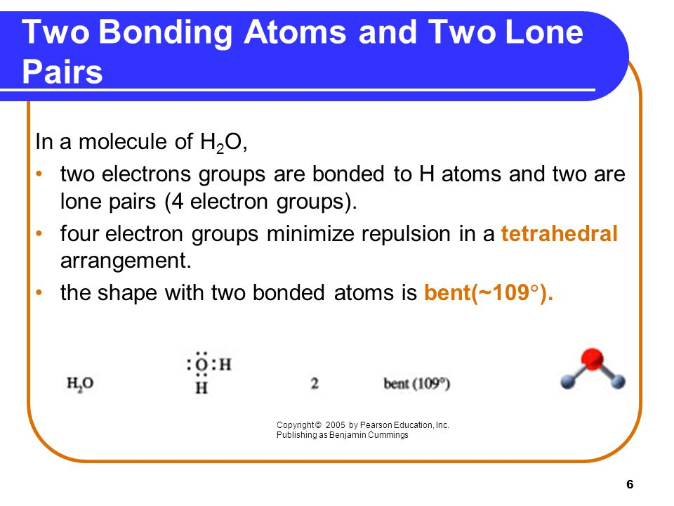 Two Bonding Atoms and Two Lone Pairs