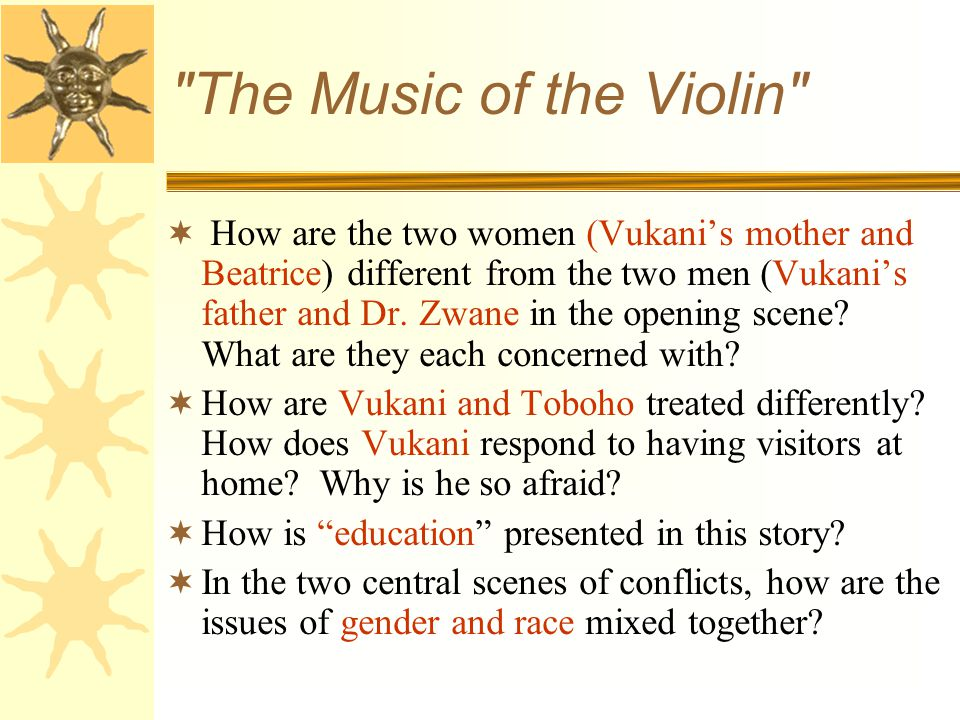 The Music of the Violin