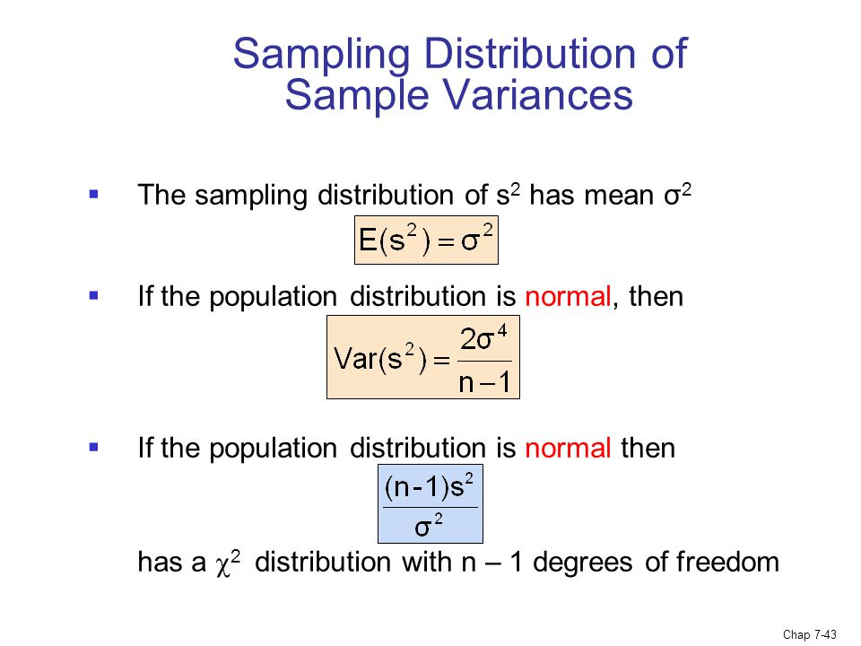 Chapter  Sampling And Sampling Distributions  Ppt Video Online