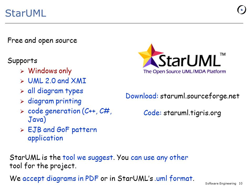 staruml free and open source supports windows only uml 20 and xmi - Uml Tool Download