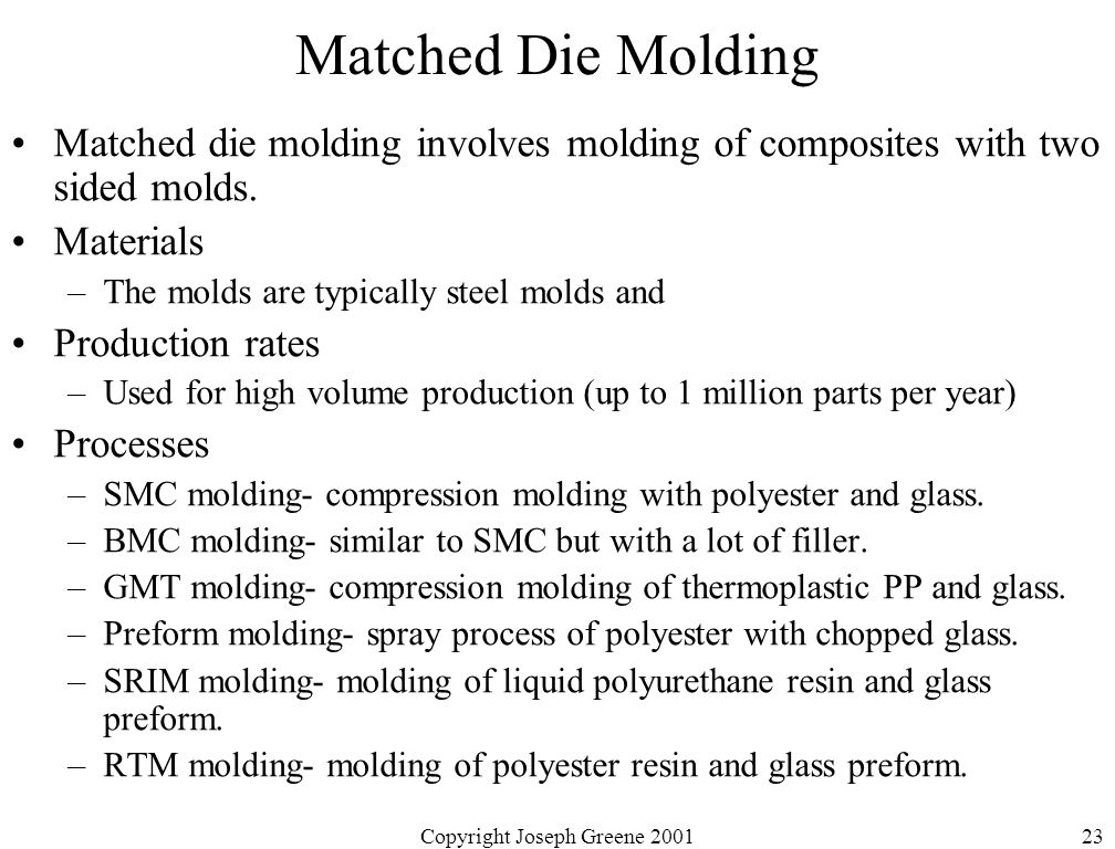 manufacturing methods of composite materials pdf