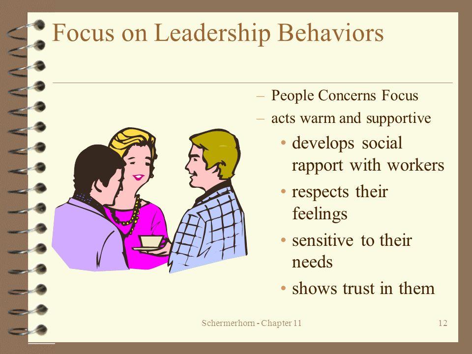Focus on Leadership Behaviors