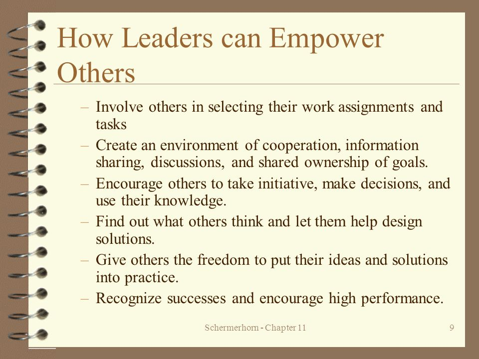 How Leaders can Empower Others