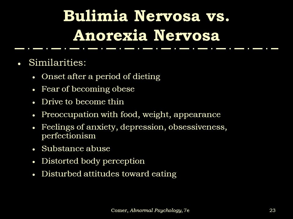 anorexia nervosa the fear of being obese Anorexia nervosa is an eating disorder in which a person starves the body due to fear of being too fat or becoming fat it is a very real disorder of a psychological nature.