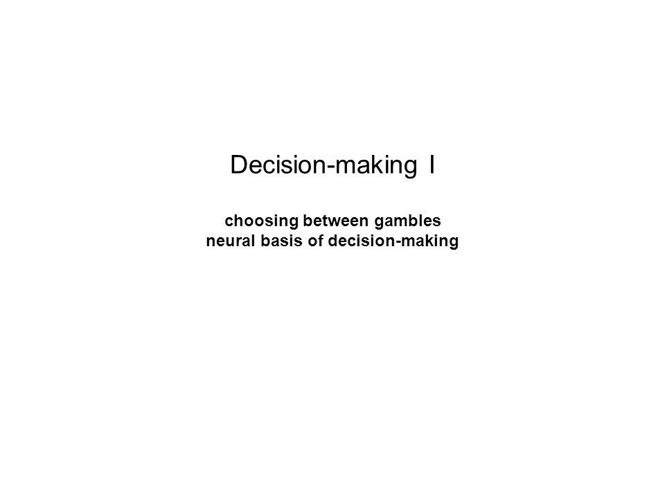 how to make the best decision