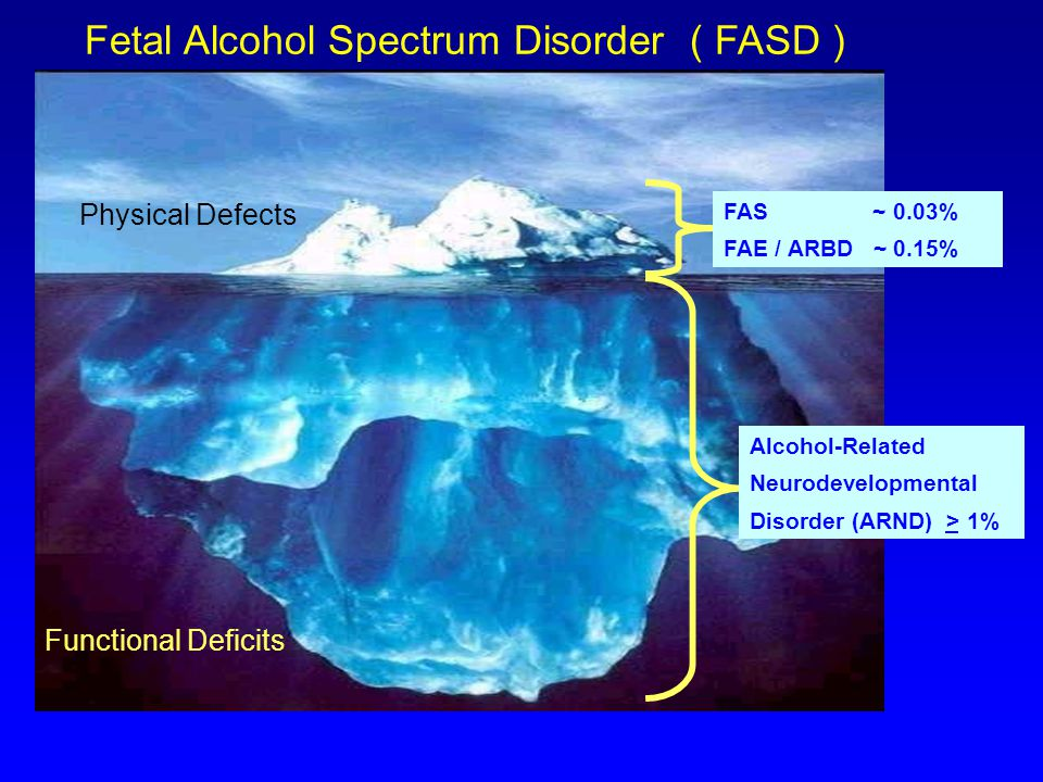 Programmatic Research On Fetal Alcohol Spectrum Disorder