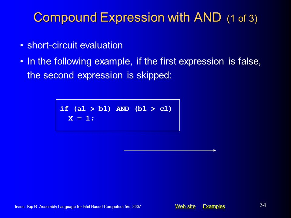 Compound Expression with AND (1 of 3)