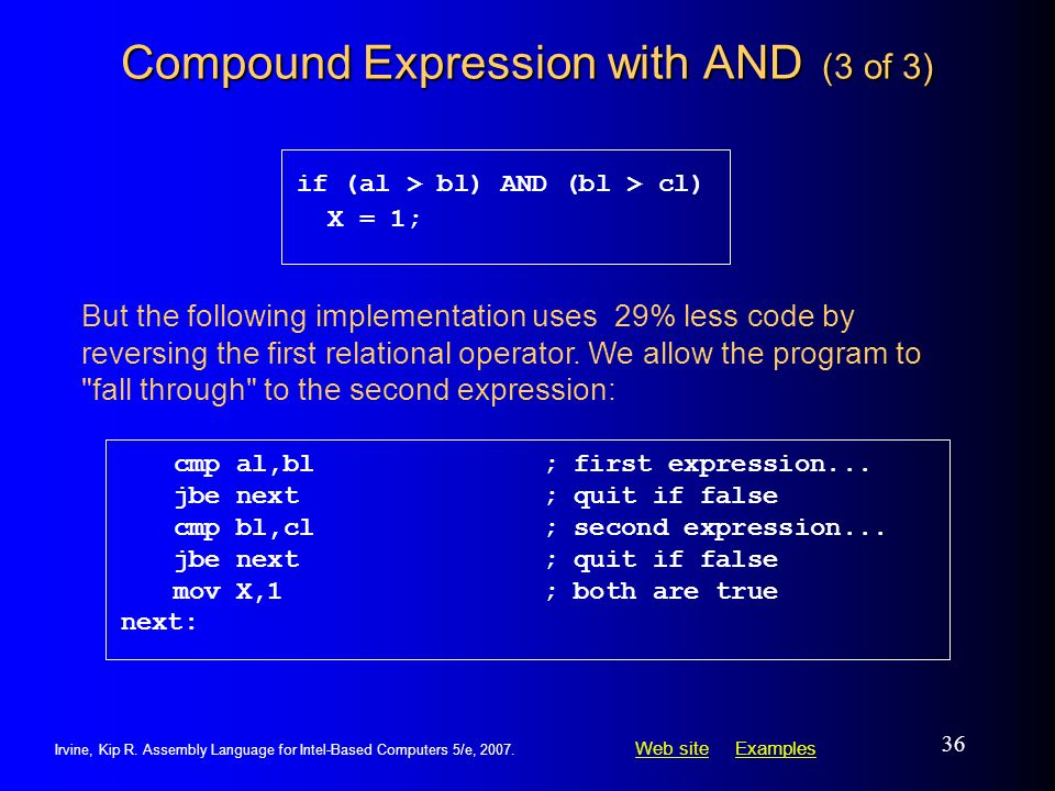 Compound Expression with AND (3 of 3)