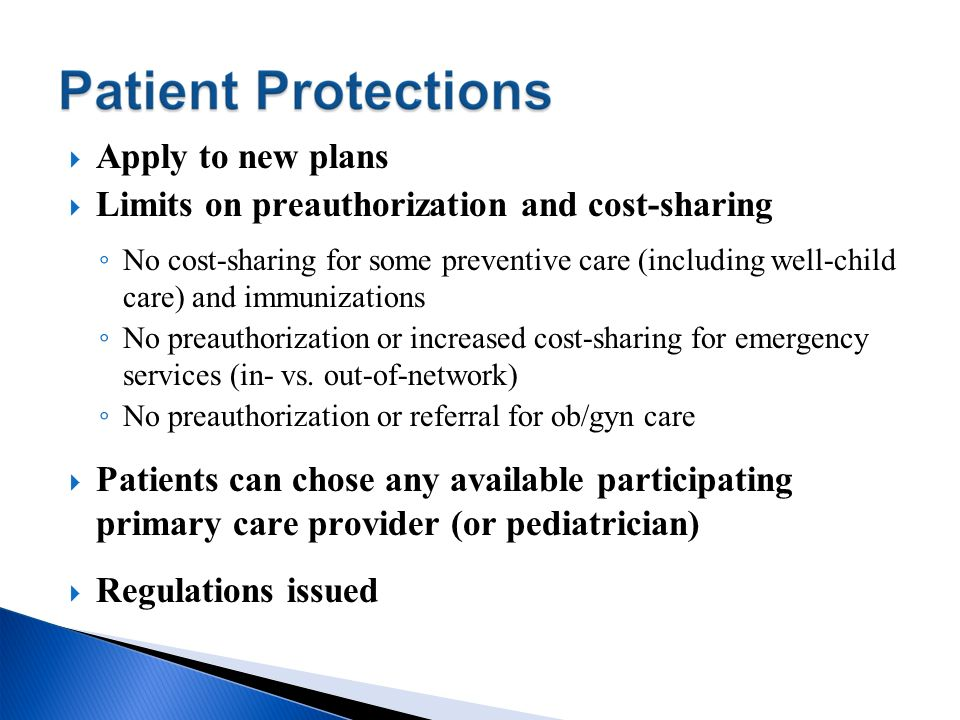 Limits on preauthorization and cost-sharing