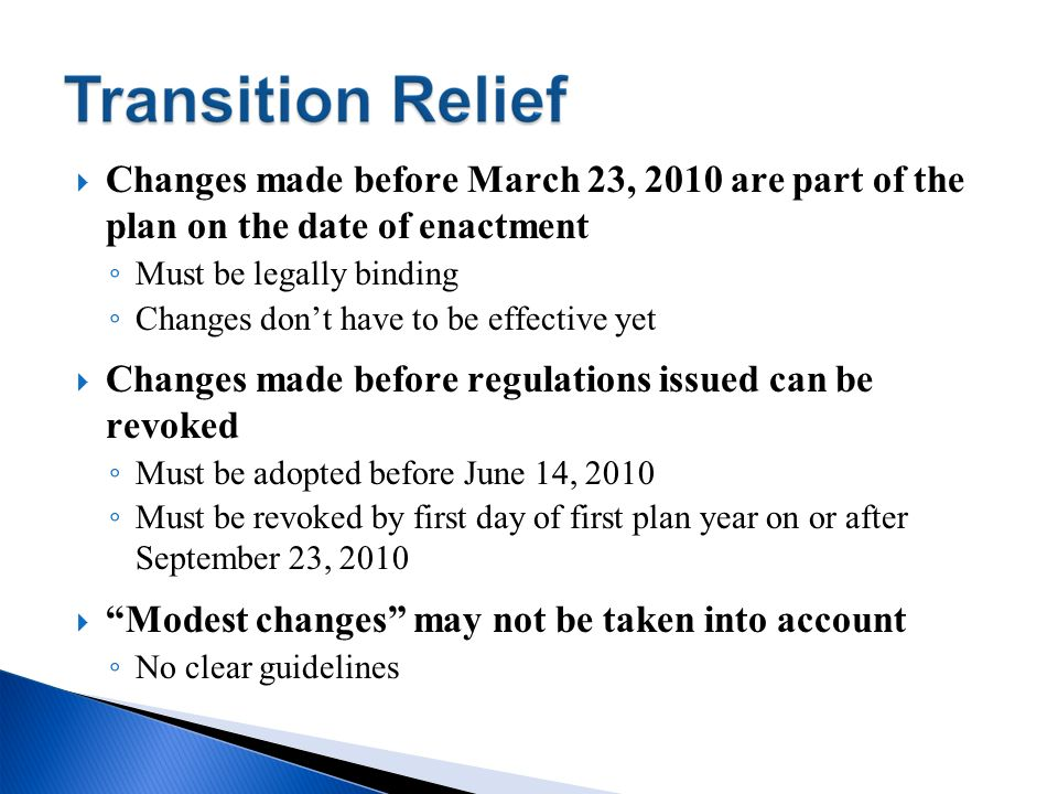 Changes made before regulations issued can be revoked