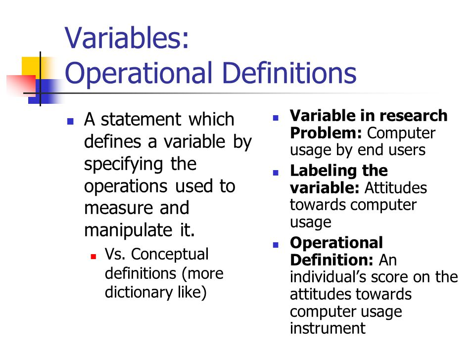 Intervening and Moderator Variables