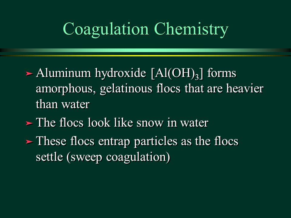 Coagulation Chemistry