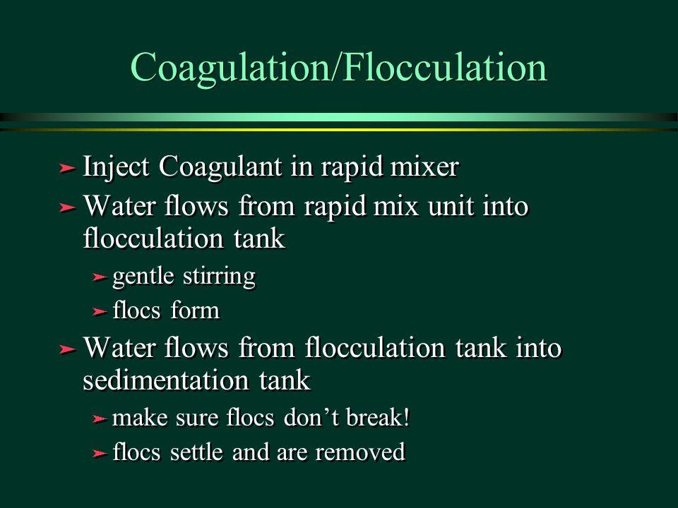 Coagulation/Flocculation