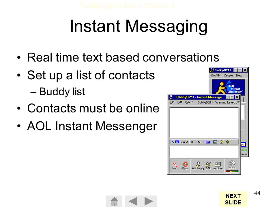 Text Based Chat Rooms