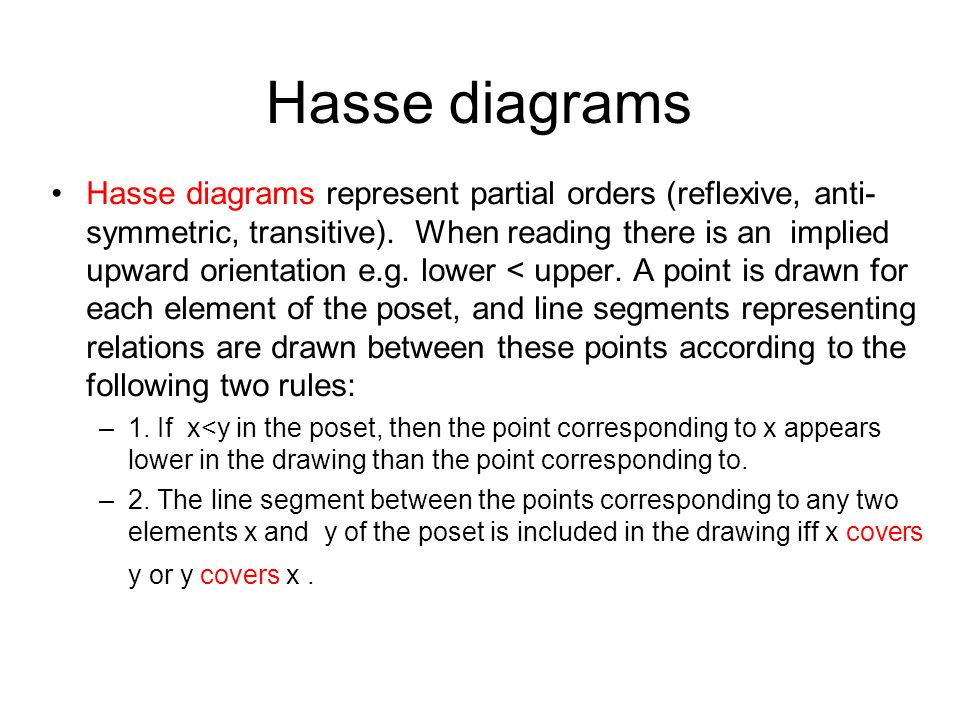 Computing fundamentals 2 lecture 4 lattice theory ppt download hasse diagrams ccuart Choice Image