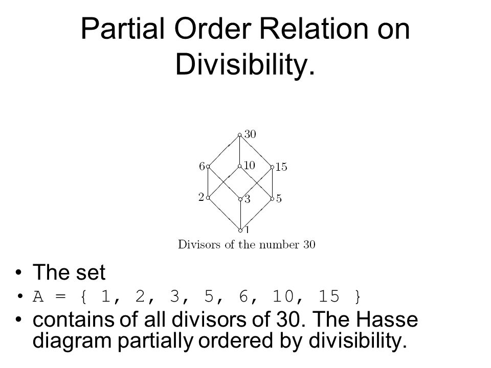 Computing fundamentals 2 lecture 4 lattice theory ppt download 52 partial ccuart Image collections