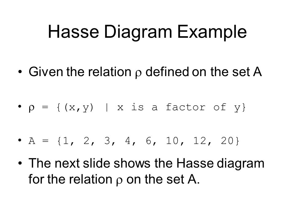 Computing fundamentals 2 lecture 4 lattice theory ppt download 58 hasse diagram ccuart Image collections