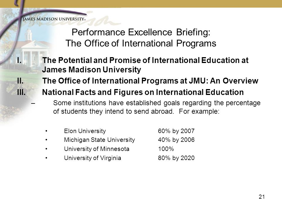 Performance excellence briefing the office of international programs ppt download - International programs office ...