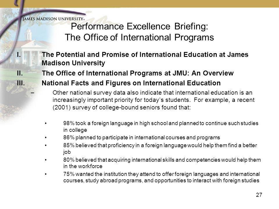 James Madison University   Presidential Update   Alumni Fall