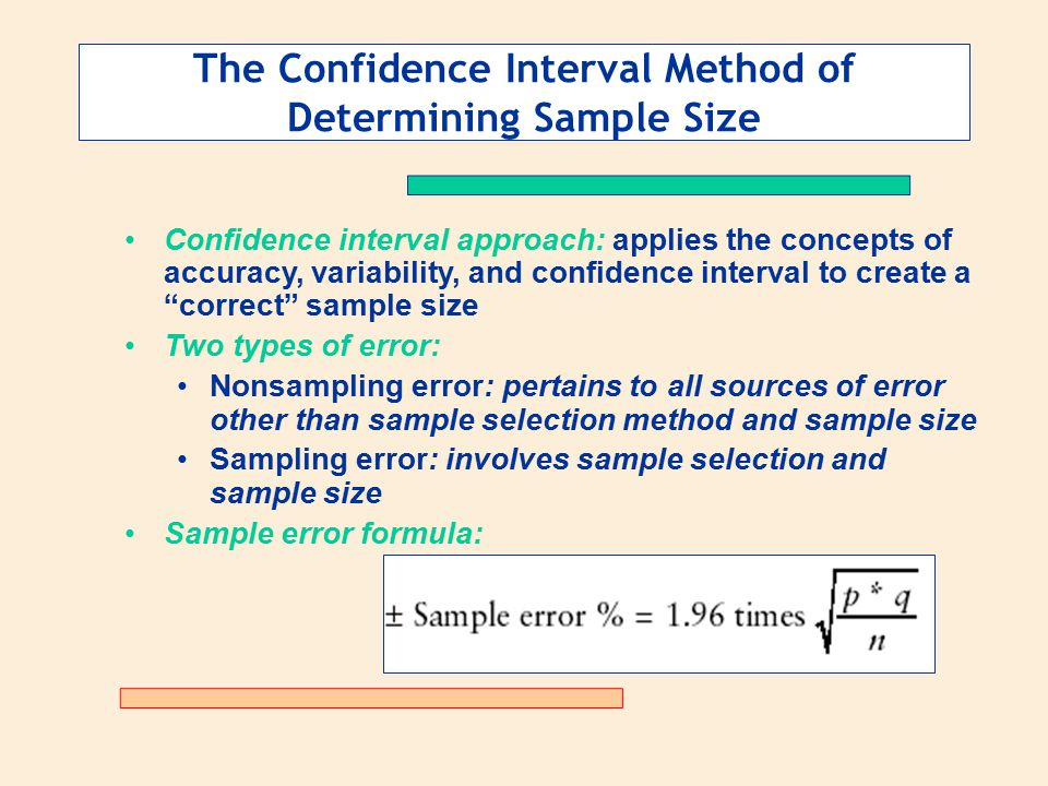 Determining the Size of - ppt download