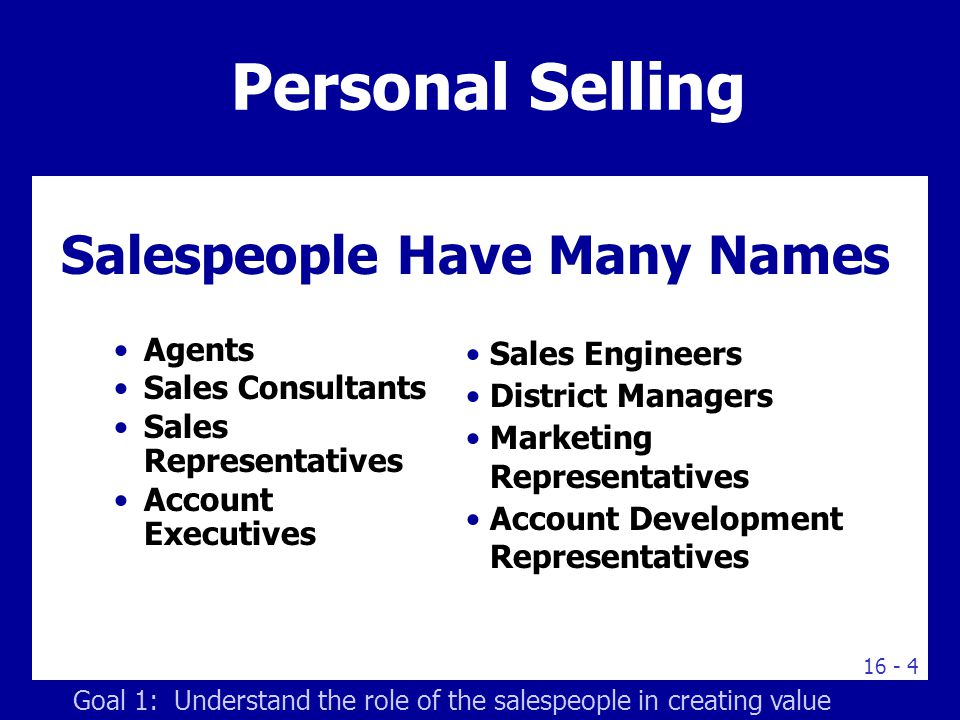 roles and goals of salespeople changed When helping to make a sale, sales managers must listen and  must develop strategies for meeting sales goals  sales managers percent change in.