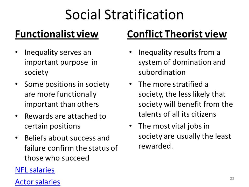 functionalist view of social order These class notes on functionalist theory should be all you need to  there is  such a thing as a social structure that exists independently from.