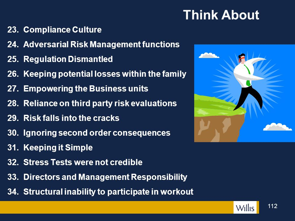 Think About 23. Compliance Culture