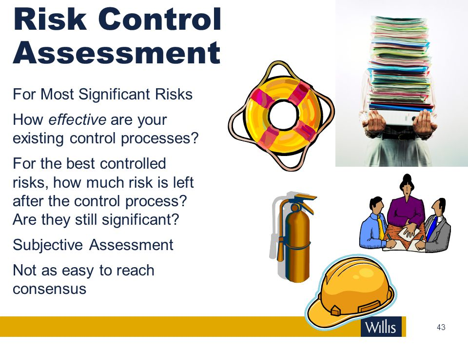 Risk Control Assessment
