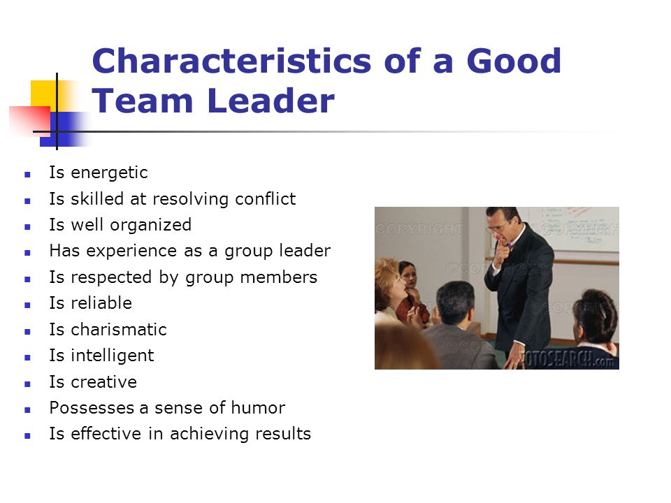 10 traits of a good team Top 10 characteristics of an effective project team  one of the most vital characteristics of an effective project team is that the members are all team players.