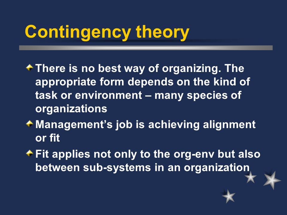Organization Theory Strategy Implementation Process Ppt