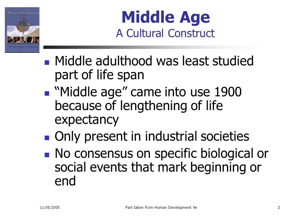 Middle age development