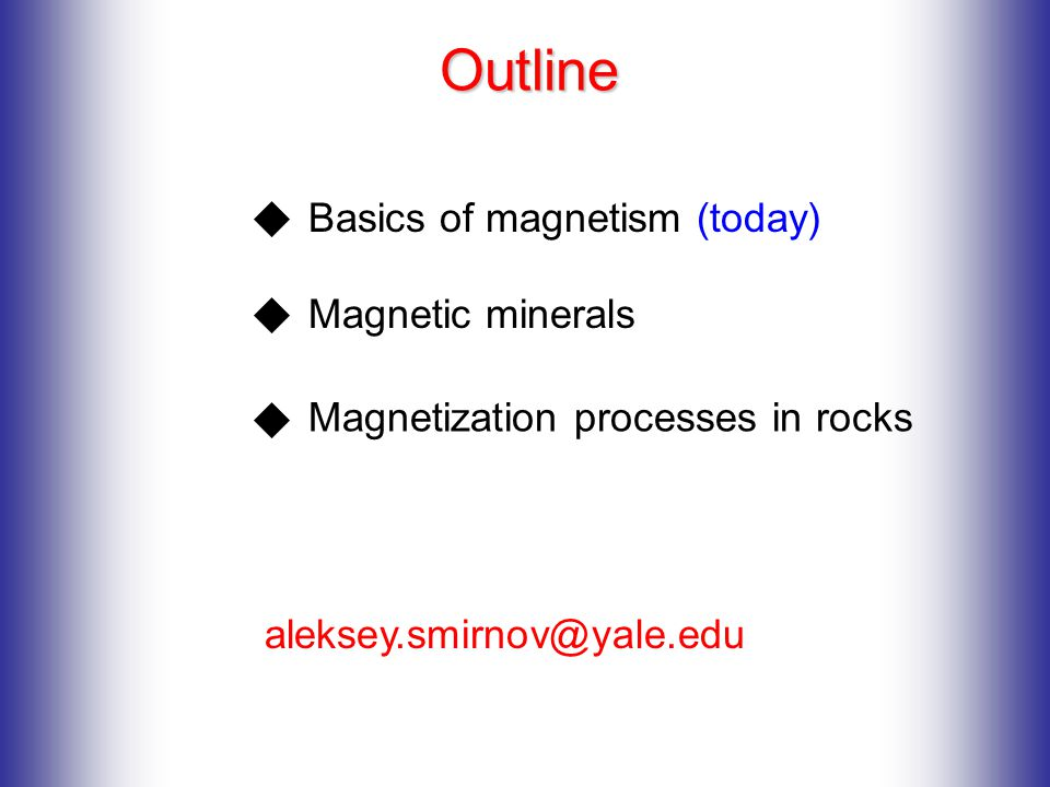 basics of magnetism The metal in our experiment is a soft ferromagnetic material, which means that it  is easily magnetized but may not retain its magnetism very long.