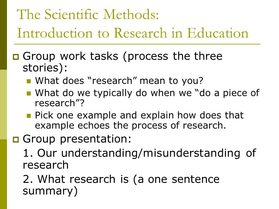 introduction to research methods quiz 1 Define nonexperimental research, distinguish it clearly from experimental  research, and  and nonexperimental research to be an extremely important one   a college instructor gives weekly quizzes to students in one section of his  course.