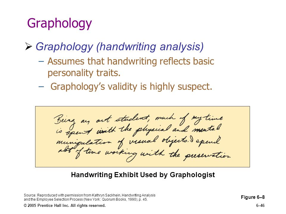 Handwriting analysis: why some people write in all caps