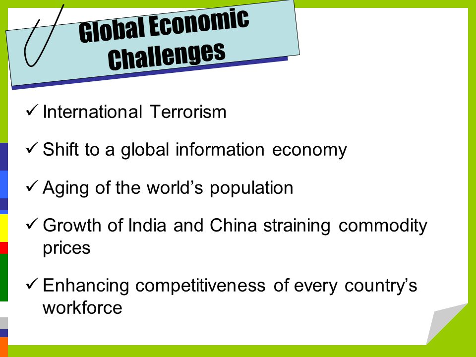 Global Economic Challenges