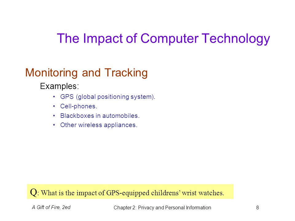 Examples List on Impact On The Mobile Computing Industry Information Technology